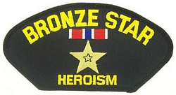Bronze Star Patches